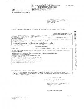 ACTA DE EMPRESA INSTALADORA ELECTRICA EN BAJATENSION