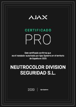 Instalador AUTORIZADO Tecnología AJAX